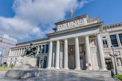 Pradomuseum in Madrid, Spanje Royalty-vrije Stock Afbeelding