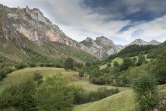 Prados de heno en Valle del Lago Imagen de archivo libre de regalías