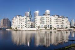 Prados de Jumeirah em Dubai Imagem de Stock Royalty Free