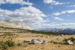 Prados de la montaña Fotografía de archivo