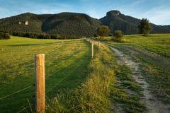 prados e pastos da montanha em Eslováquia fotografia de stock royalty free