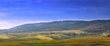 Prados en las montañas Imagen de archivo