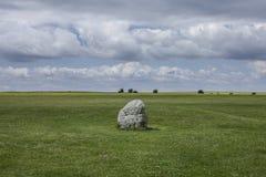 Prados - llano de Salisbury/la roca imagenes de archivo