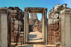 Prae Roup Temple at Angkor Royalty Free Stock Photo