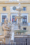Praetorian Fountain and Palace - Palermo Stock Images