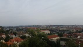 Prag地平线  免版税库存照片
