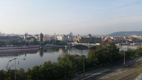 Prag地平线  库存照片