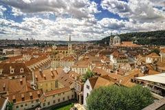 Prag άνωθεν Στοκ φωτογραφίες με δικαίωμα ελεύθερης χρήσης