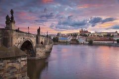 Prag. Lizenzfreie Stockbilder