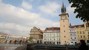 prag stock video footage