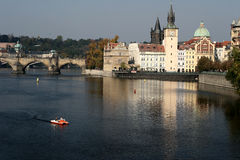 Prag stock afbeelding