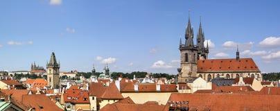 Prag-alte Stadt Stockfotografie