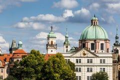 Prag-alte Stadt stockbild