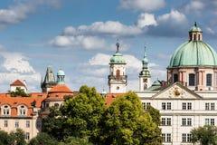 Prag-alte Stadt lizenzfreies stockfoto