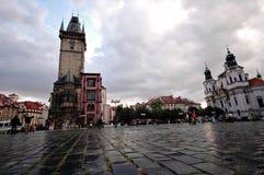 Prag-altes Stadtquadrat Stockbilder