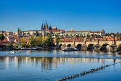 Prag, Ansicht von Prag-Schloss lizenzfreie stockfotografie