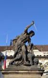 Prag-Besuch Stockfotos