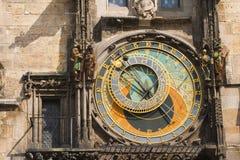 Prag-Borduhr Lizenzfreie Stockfotos
