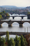 Prag-Brücken Lizenzfreie Stockfotografie