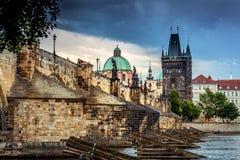 Prag Charles Bridge -1 Lizenzfreie Stockfotografie