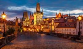 Prag Charles Bridge -3 Stockfoto