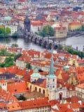 Prag. Czechia Stockbild