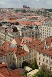 Prag-Dächer Stockfotografie