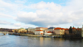 Prag, die Moldau, Tschechische Republik Lizenzfreie Stockbilder