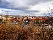 Prag, ein Park Lizenzfreie Stockbilder