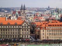 Prag, ein Park Lizenzfreies Stockfoto