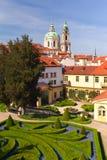 Prag-Gärten. Stockbilder