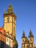 Prag-Grenzsteine Lizenzfreie Stockfotografie
