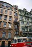 Prag-Haus lizenzfreie stockfotografie