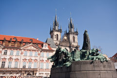 Prag historic architecture Royalty Free Stock Images