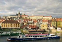 Prag im Herbst Stockfoto