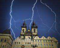 Prag ist die Stadt und das Kapital der Tschechischen Republik Lizenzfreies Stockfoto