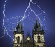 Prag ist die Stadt und das Kapital der Tschechischen Republik Lizenzfreie Stockfotos