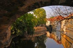 Prag-Kanal Lizenzfreie Stockbilder