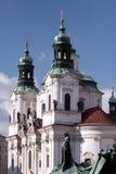 Prag. Kathedrale und Skulptur von Jan. Zhizhka Lizenzfreie Stockfotografie