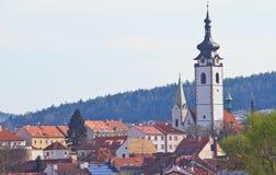 Prag-Kirche Lizenzfreies Stockbild