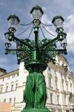 Prag-Laternenpfahl stockbild