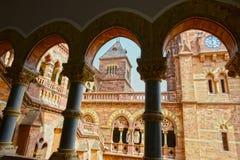 Prag Mahal en Gujarat Foto de archivo libre de regalías