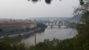 Prag - Moldau Foto de archivo libre de regalías