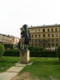 prag Monument zum Komponisten Antonin Dvorak Lizenzfreie Stockfotos