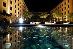 Prag nachts stockbilder