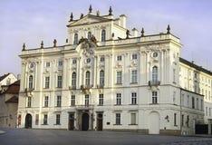 Prag-Palast Lizenzfreies Stockfoto