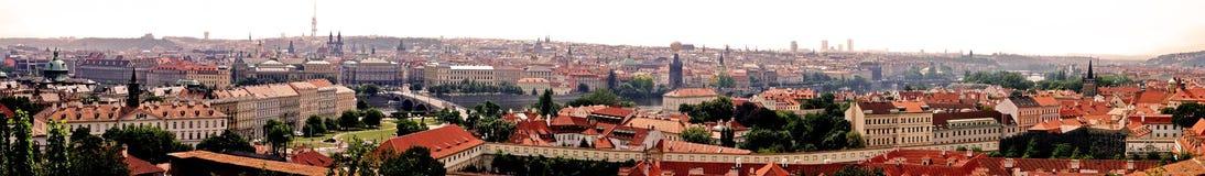 Prag-Panorama Stockbilder