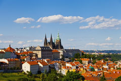 Prag-Panorama Stockfotos