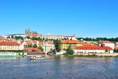 Prag. Prag-Schloss Stockbilder