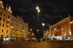 Prag-Republik-Quadrat Lizenzfreie Stockbilder